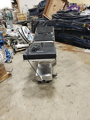 Surgery Table Steris Amsco Operating Room Surgical Table 3080 Rc. With Remote