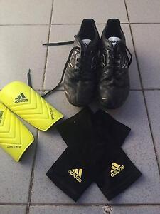 Football Boots & Shin Pad Set Adelaide CBD Adelaide City Preview