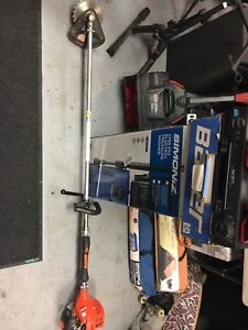 Echo brush trimmer in like new condition