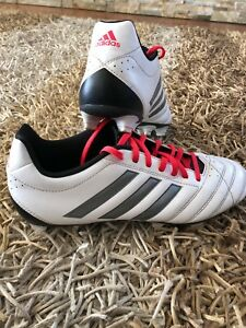 "Adidas ""white"" Football boots (US 9.5)"
