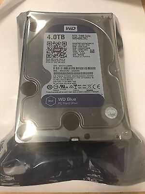 Western Digital Internal Hard Drive Blue WD40EZRZ 4TB 3.5