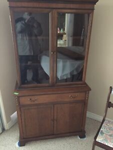 Knechtel hutch and display cabinet
