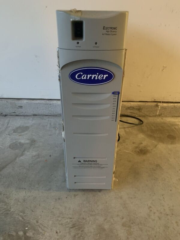Carrier High Efficiency Electronic Air Cleaner
