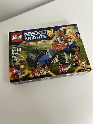 Lego 70319 Nexo Knights Macy's Thunder Mace (Brand New & Sealed)
