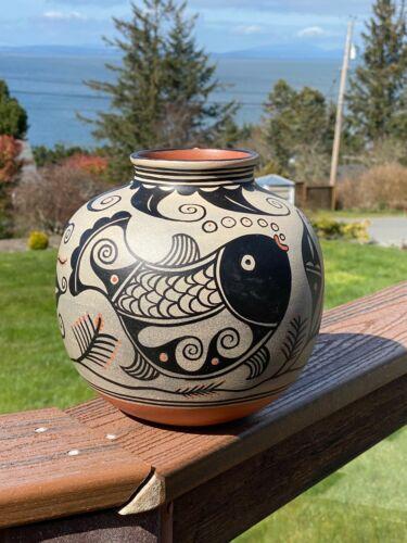 Thomas Tenorio Pottery Jar Kewa, NM 2012