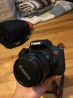 Canon EOS Rebel t7i + EF-S 18-55mm lens