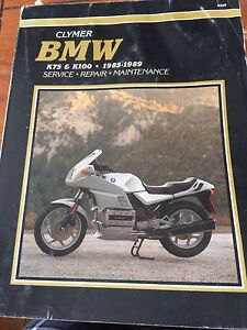 BMW K75 K100 Brick Manual