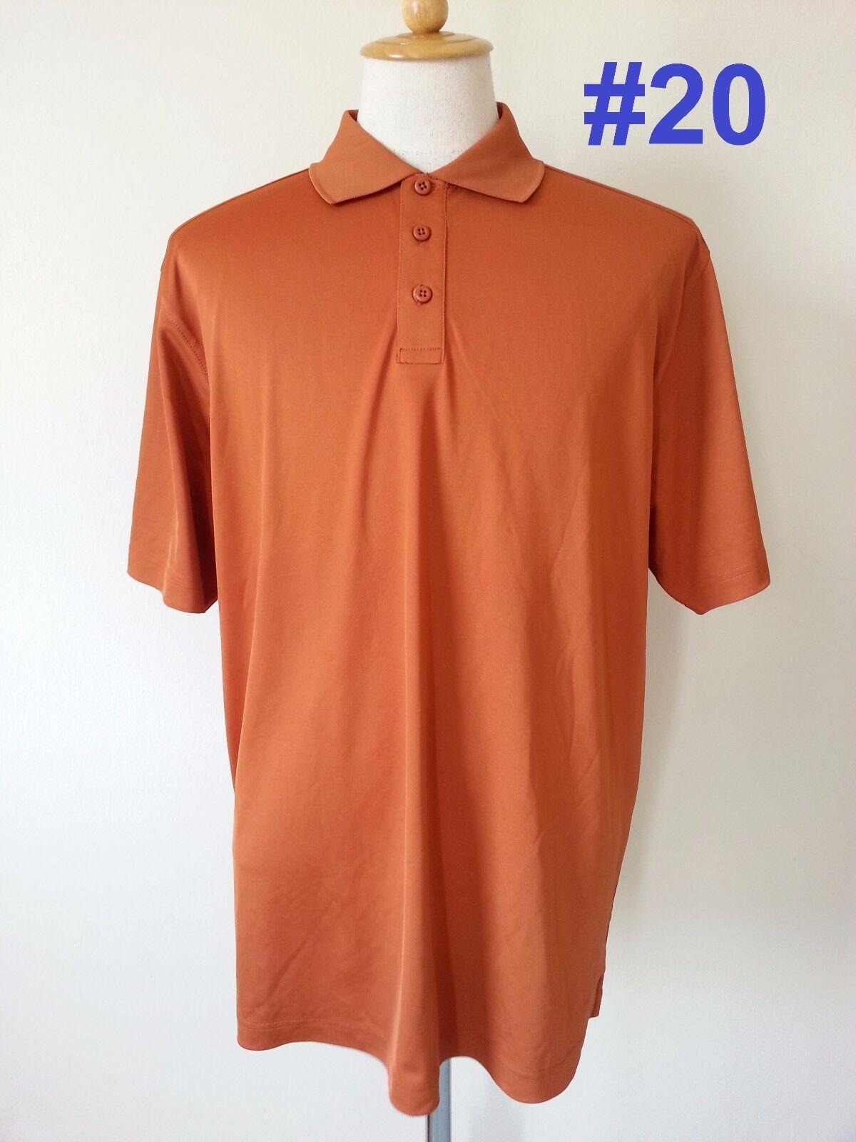 New ua under armour mens golf polo heat gear loose for Under armour 3xl polo shirts