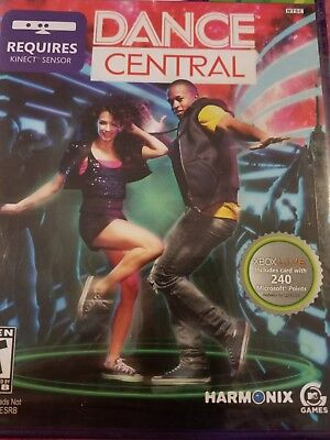 DANCE CENTRAL (W/240 POINTS CARD) - Xbox 360 - (BRAND NEW) for sale  Gardena