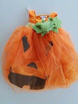 Pottery Barn Kids Light Up Pumpkin Dress Halloween Costume 3T #2937