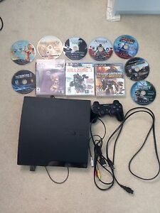 PS3 500 GB with over 20 games