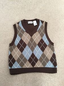 Size 4T winter knit vest