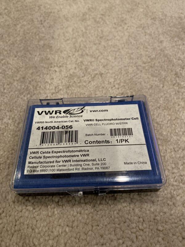 VWR Spectrophotometer Cells #414004-056 NEW (1 unit)