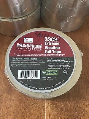 Nashua 330x Extreme Weather Foil Tape 3.5 Mil Thick 2 X 50 Yards