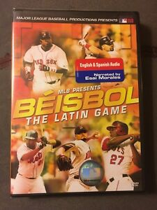New dvd baseball the latin game narrated by esai morales
