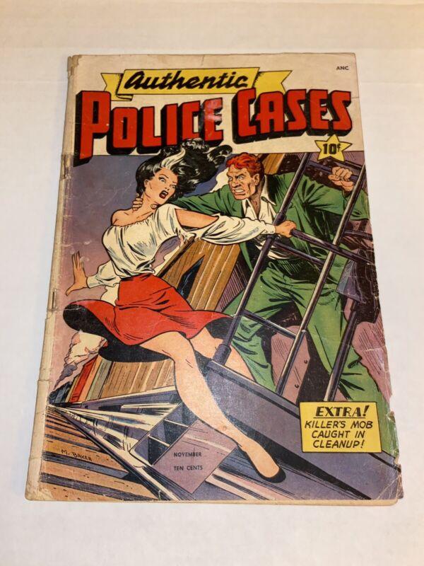 Authentic Police Cases 6 Matt Baker Sexy GGA Cover SOTI