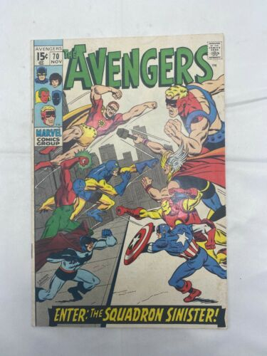 Silver Age Avengers #70