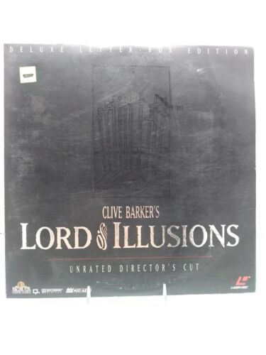 Lord Of Illusions Unrated Directors Cut Deluxe Letter Box 2 Extended LaserDisc  - $12.00