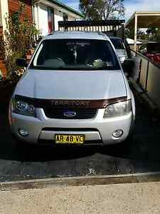 Ford territory AWD 7 seater rego till 10 / 06 / 2017 Heckenberg Liverpool Area Preview
