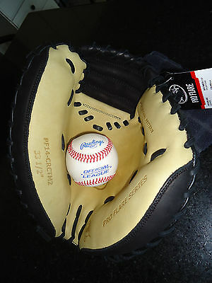 "LOUISVILLE PRO FLARE PF14-CRCTM2 CATCHERS MITT / GLOVE 33.5"" RH $219.99"