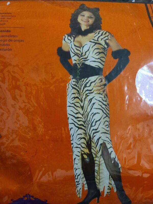 Adult - Women Size Large 12-14 Tigress Halloween Costume