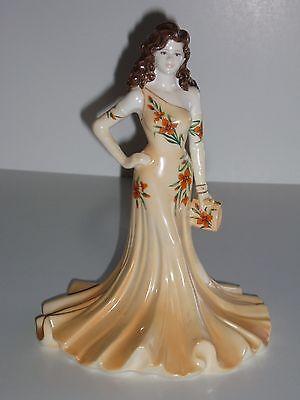 Coalport Hand Decorated Bone China Ladies of Fashion Figurine - Julianna (1998)