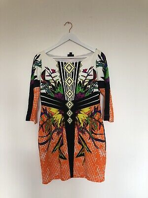 Just Cavalli Womens Long Sleeve Dress