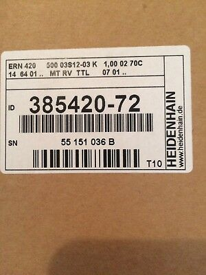 Heidenhain Corp 385420-72 New In Factory Packaging Quick Connection