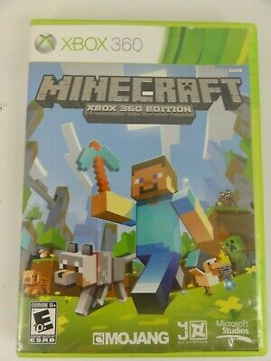 Minecraft Xbox 360 Edition Video Game Microsoft 2013 No Manual Tested and works