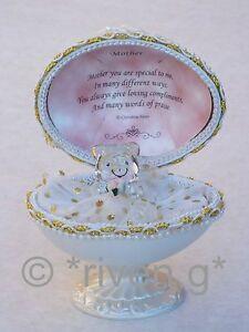 MOTHER-Unique-Faberge-based-Design-22kt-EASTER-huevo-Gift-Glass-con-amor-Verso