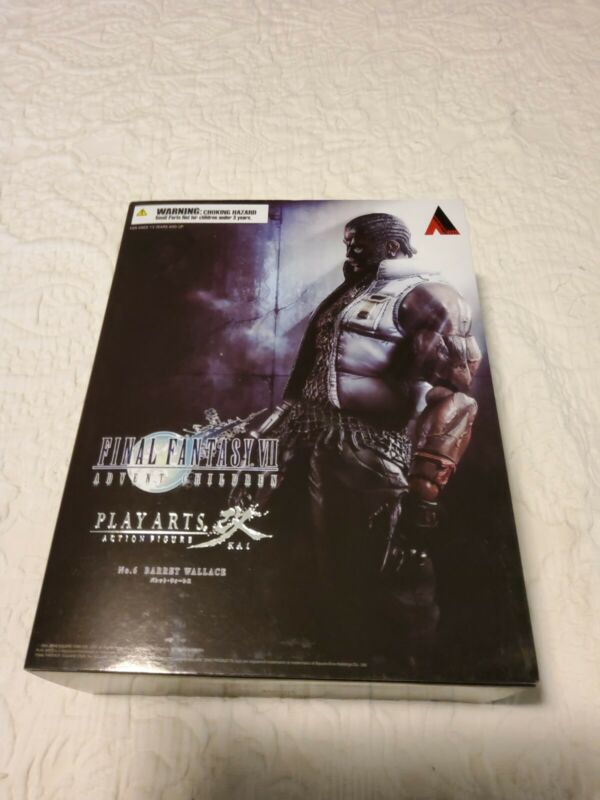 Square Enix Play Arts Kai Final Fantasy 7 Advent Children Barret