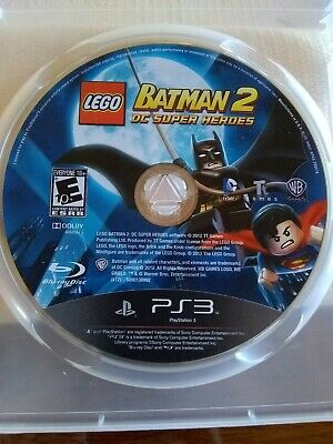 LEGO Batman 2 DC Super Heroes DISC ONLY for PS3 Sony Playstation 3