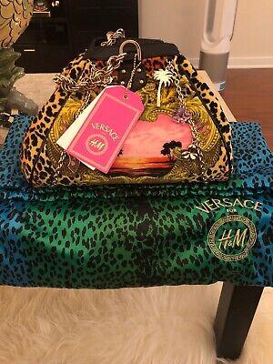 Versace For H&M Limited Edition Velvet Handbag