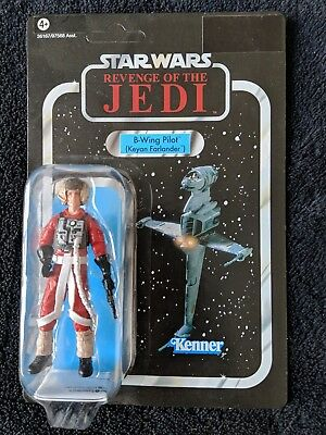 Star Wars Vintage Collection, VC63 B-Wing Pilot (Keyan Farlander), UNPUNCHED