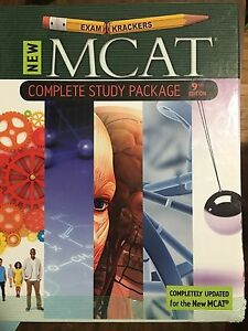 MCAT Prep study Books - Exam Krackers