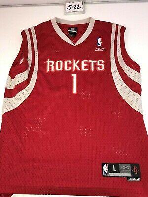 Youth Large Reebok NBA Tracy McGrady Houston Rockets #1 Jersey. +2.