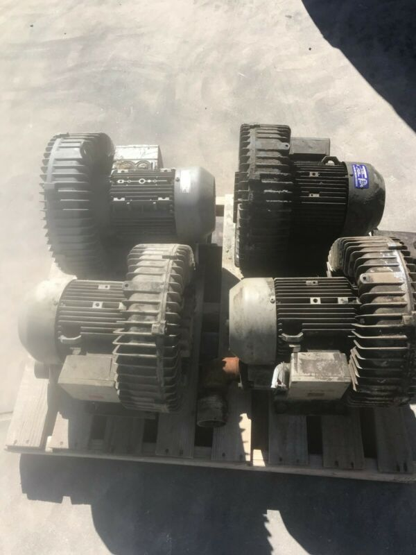 VACUUM PUMP 2BH1600  SIEMENS (LOT of 4) NASH ELMO