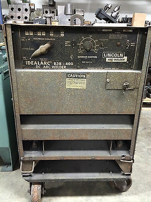 Lincoln Welder Idealarc R3r-400 Dc Arc Welder