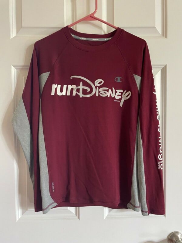 Small Long Sleeved runDisney Champion shirt