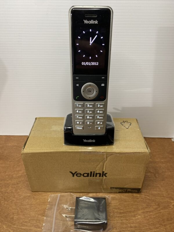 Yealink YEA-W56H HD DECT Expansion Handset for Cordless VoIP Phone LCD Screen