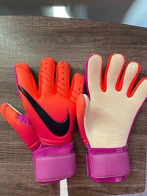 Arsenal Fc Goalkeeper Goalie Gloves Youths Kids 10-12 Years