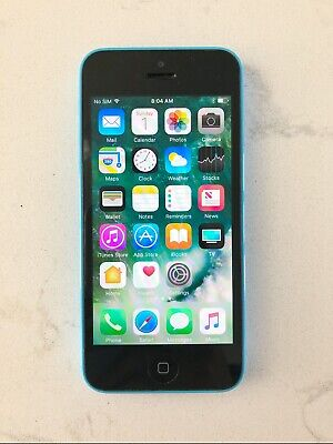 iPhone 5c-8GB - Blue -Unlocked(Previously AT&T)