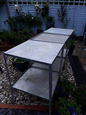 Aluminium Greenhouse Staging Table Potting
