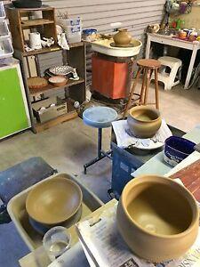 Pottery making classes, wheel work, hand built, custom mosaic Littlehampton Mount Barker Area Preview