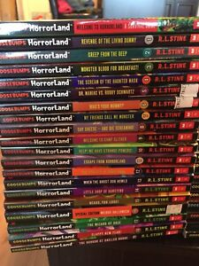 Goosebumps book collection complete sets