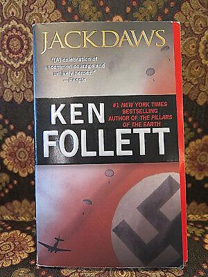 World War II Ken FOLLETT JACKDAWS Thriller Women Service Britain Behind Lines PB