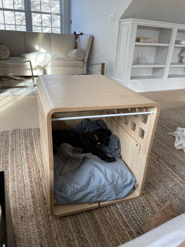 Fable Acrylic Dog Crate NIB