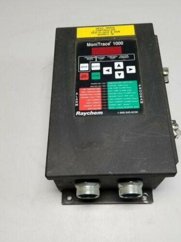 Raychem Monitrace 1000 Heat Tracing Controller Operator Interface