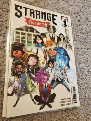 STRANGE ACADEMY #1 Cover A First PRINT 1st Appearances! Marvel Comics Young