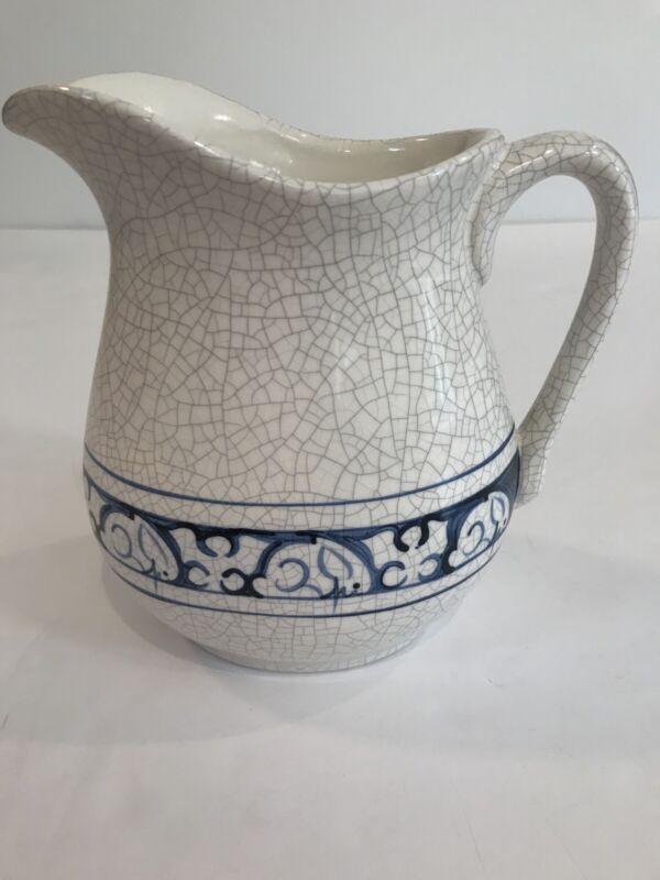 Dedham Pottery Rabbit Pitcher 1987